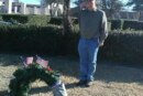 Post 100 Places Wreaths for Tracy Laramore and Jerod Osborne