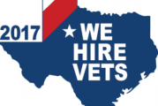 Dept of Texas Recognized for Hiring Vets